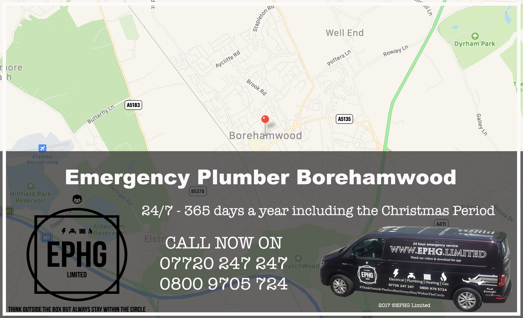 24 Hour Emergency Plumber Borehamwood