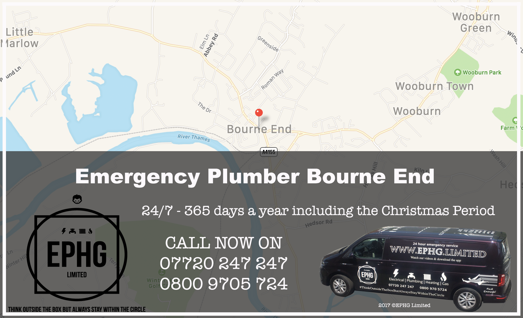 24 Hour Emergency Plumber Bourne End