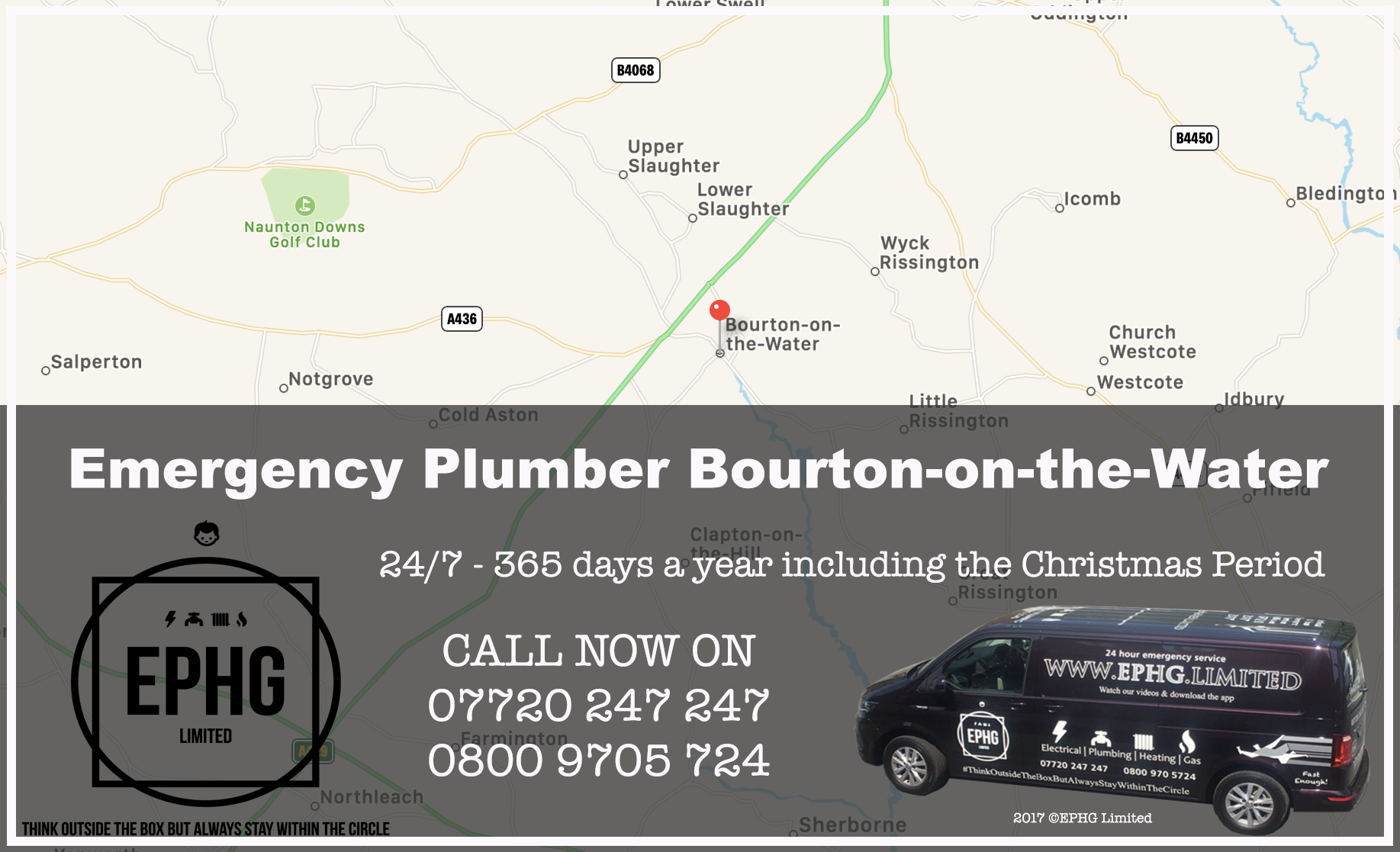 24 Hour Emergency Plumber Bourton-on-the-Water