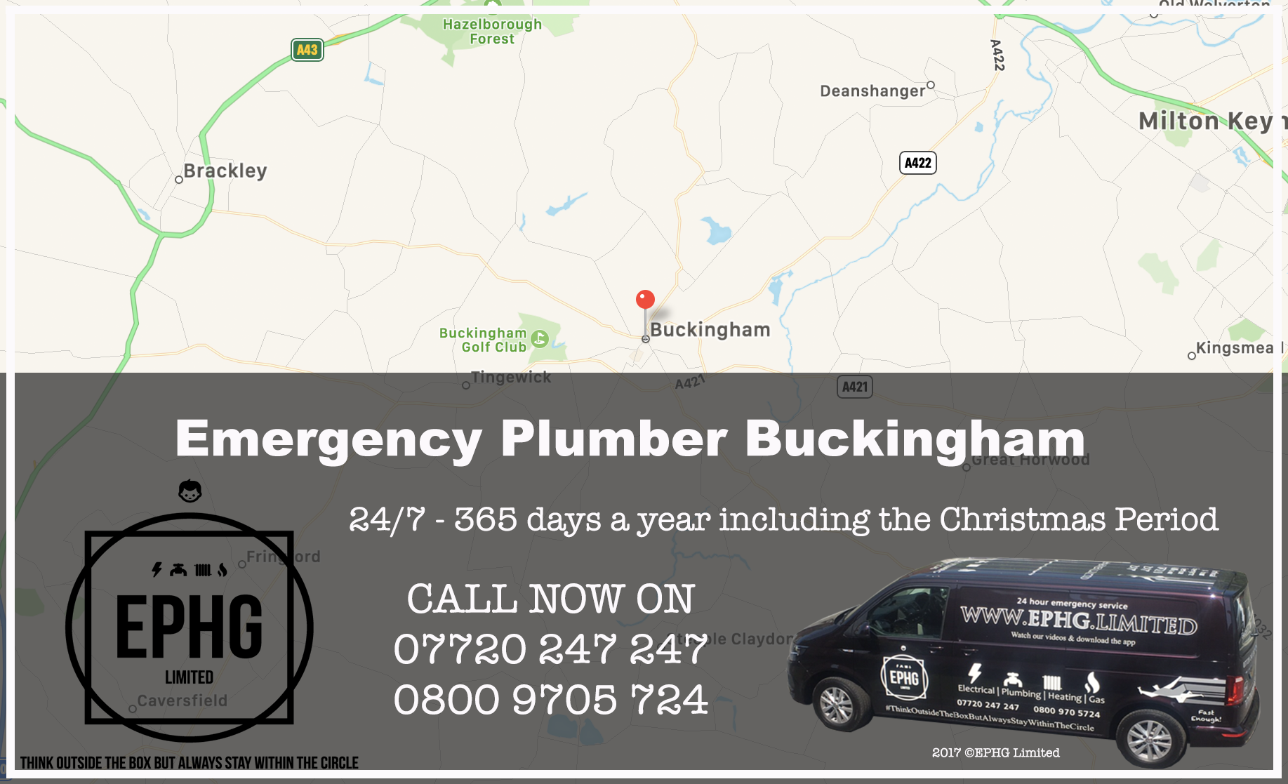 24 Hour Emergency Plumber Buckingham