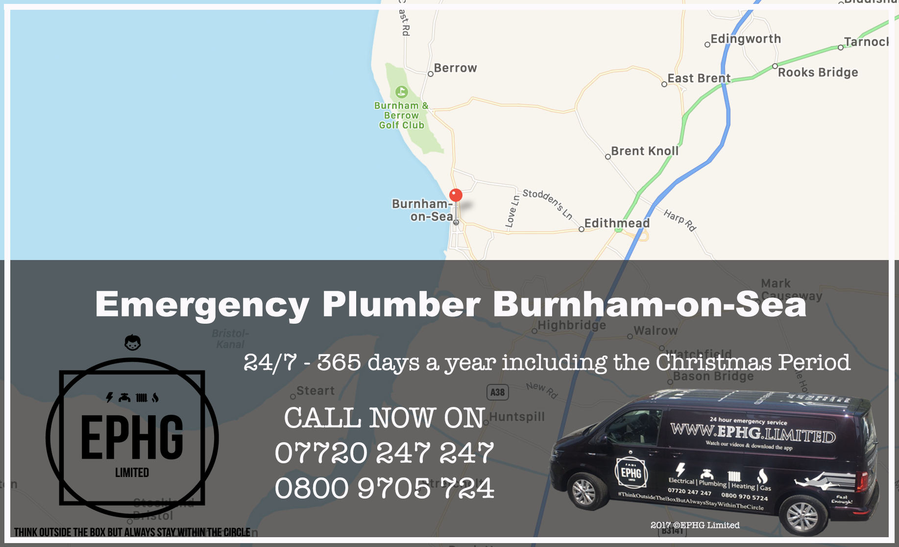 24 Hour Emergency Plumber Burnham-on-Sea