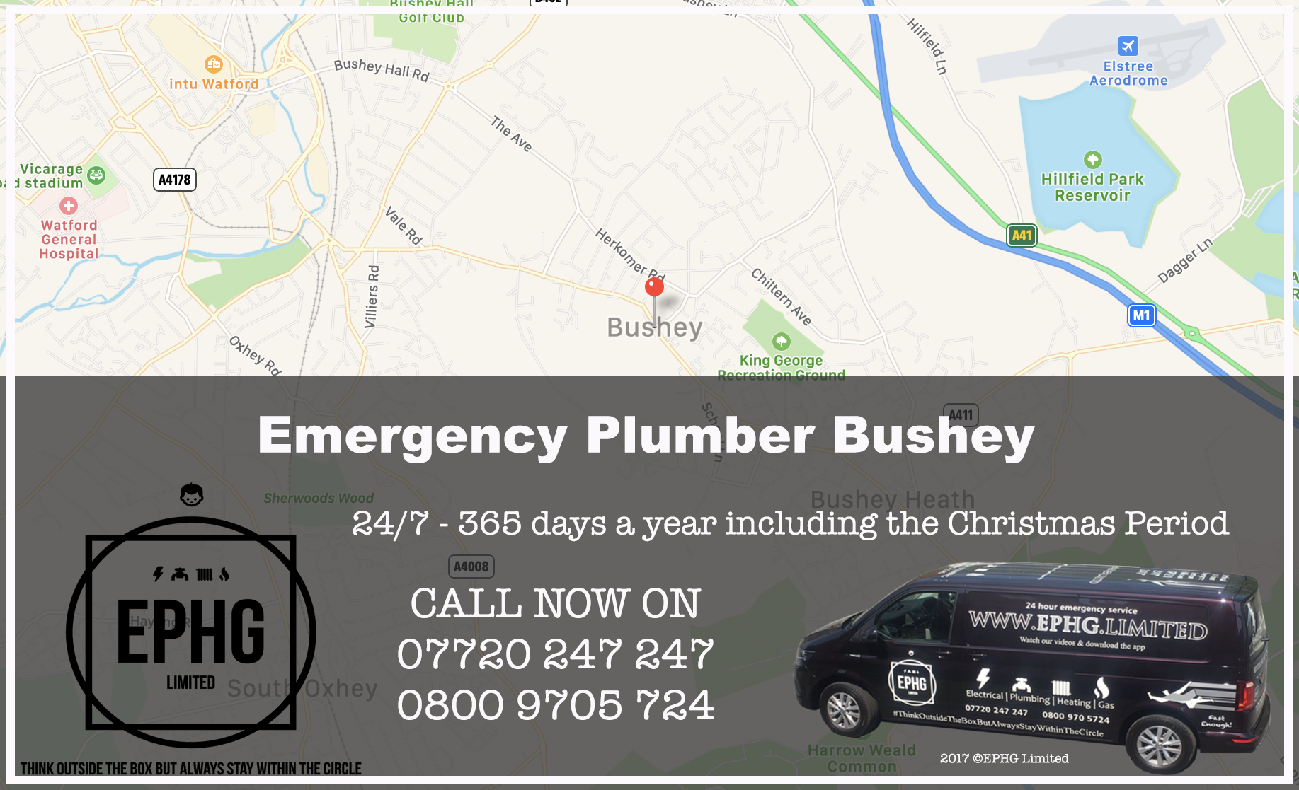24 Hour Emergency Plumber Bushey